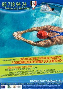 nauka pływania dorośli
