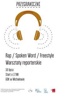 przygraniczni - plakat - rap - Michalowo