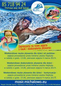 nauka pływania 2017